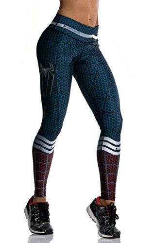 Spider-Man Superhero Many Styles Leggings Yoga Pants Compression Tights -