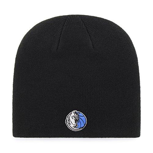(OTS NBA Dallas Mavericks Beanie Knit Cap, Black, One)