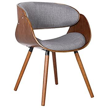 Container Direct Plywood Dining Chair Wrap Around Back, Regular