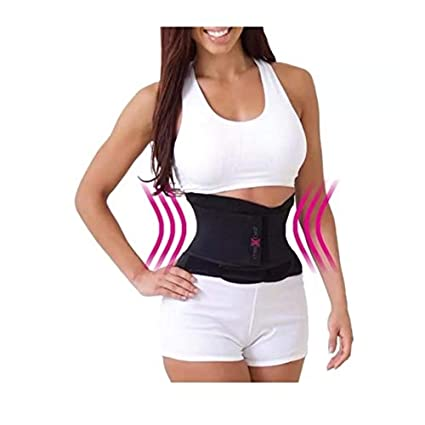 27de6372b0b Amazon.com  Miss Belt Instant Hourglass Shaper Black S M  Sports ...