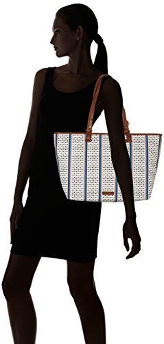 Cm Colores T Totes Bolsos Stripe Multi Varios Mujer Shopper 10 nbsp; b 16x33 Damentasche Rachel ecru H 56 Fossil X 02x35 wAa8R