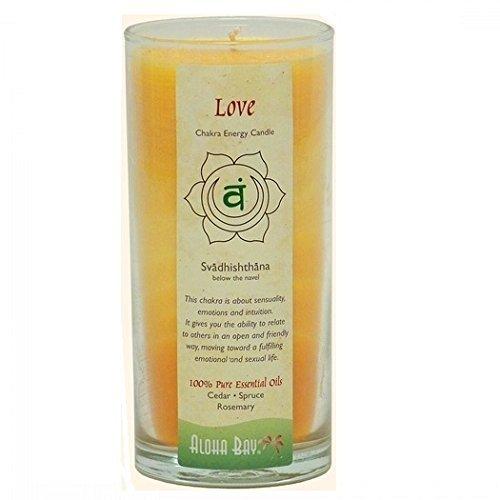 Aloha Bay Chakra Candle Jar Love - 11 oz by Aloha Bay