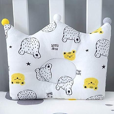 Amazon.com: Almohada para bebé Muslinlife con forma de ...