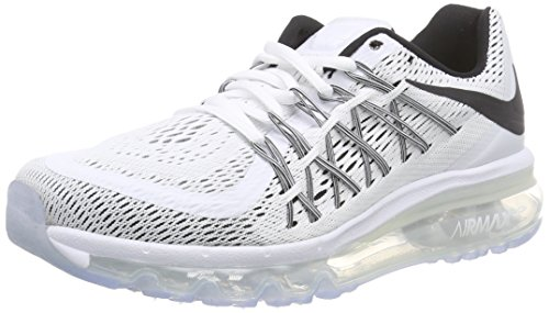 Galleon Nike Womens Air Max 2015 WhiteBlack Mesh Running
