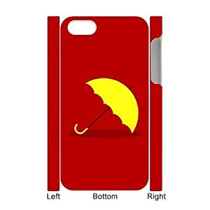 Yellow Umbrella CUSTOM 3D Phone Case for iPhone 4,4S LMc-97684 at LaiMc