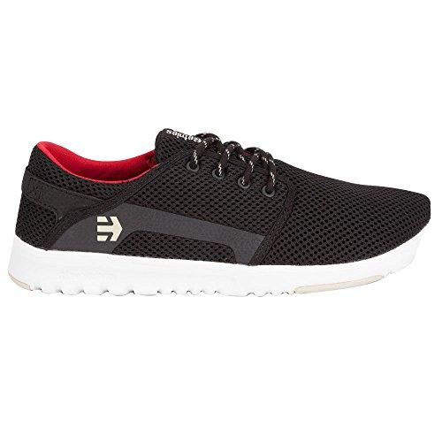 ETNIES Scout Mens Shoes, Black, 8.5