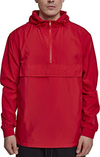 Rojo para Urban Classic Fire Basic Hombre Pullover 00697 Red Jersey qxfYOI1f