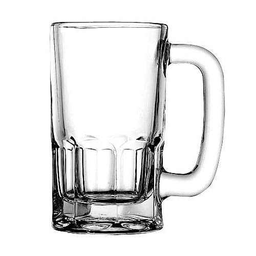 Anchor Hocking 1150U 4-3/8 Inch Diameter x 5-1/4 Inch Height, 10-Ounce Beer Wagon Mug (Case of 24) by Anchor Hocking
