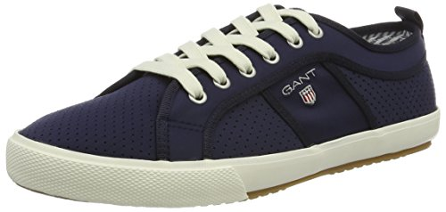 Herren GANT Samuel Marine Blau Sneaker 8rCOdwqrn