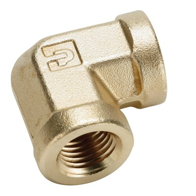 3/8''FPT Brass 90 Degree Union Elbow (1 Elbow)