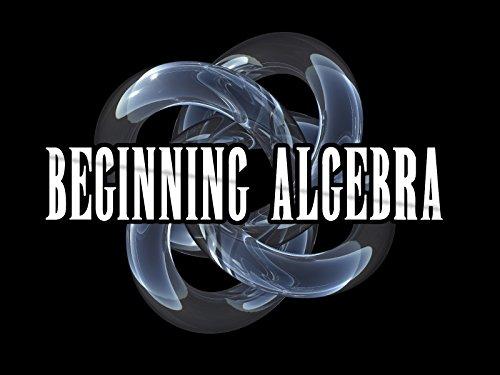 Algebra I (Beginning Algebra) on Amazon Prime Video UK