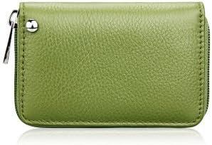Zip covers Fundas con Cremallera Verde: Fashion Lady plástico Tarjetero Mujer Monedero Monedero Hombre Mujer Cartera con pequeño tamaño Business Pack Bus Card Bag: Amazon.es: Hogar
