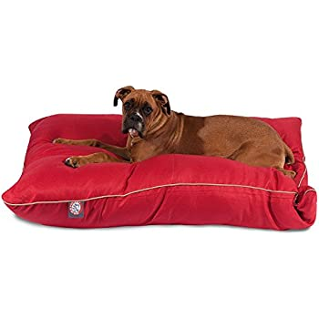 Amazon.com : 35x46 Red Super Value Pet Dog Bed By Majestic