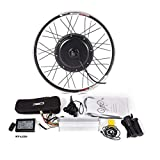 CSCbike 48V Rear Wheel Electric Bicycle Conversion Kit with 1000/1500W Brushless Gearless Motor for 26″/27.5″/28″/29″/700C MTB E-Bike