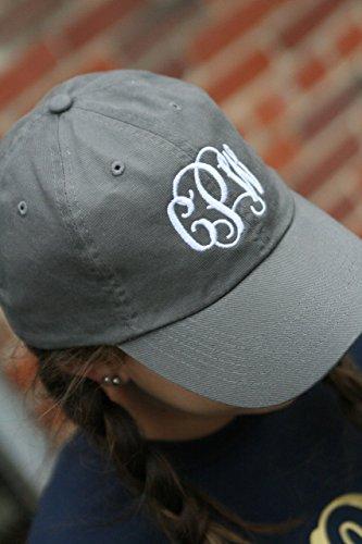 Monogrammed baseball cap (Monogrammed Hat)