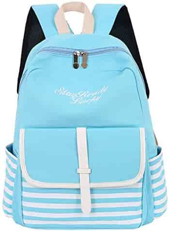 38a994760c84 Shopping Blues or Ivory - Canvas - Backpacks - Luggage & Travel Gear ...