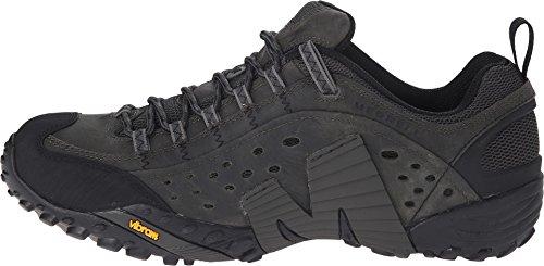 Merrell Intercept zapatos de senderismo de baja altura, color negro, talla 42,5 EU