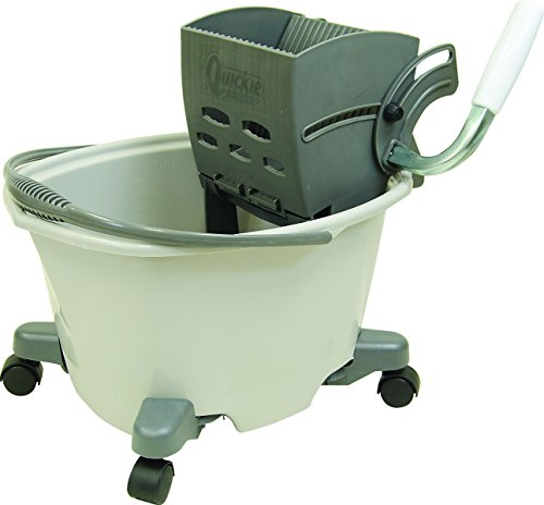 Quickies Easy Glide Mop Bucket with Wringer