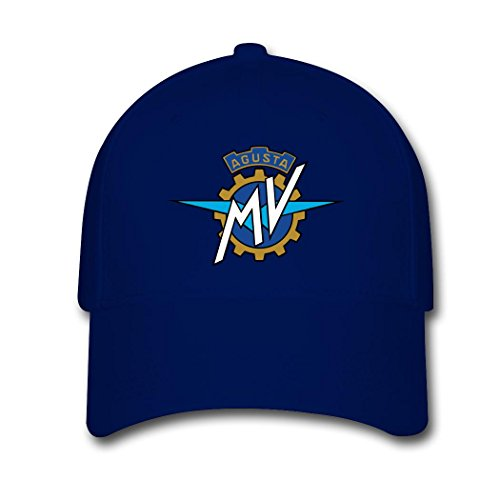 JUY New Style Custom MV Agusta Motorcycle Logo Adjustable Baseball Cap