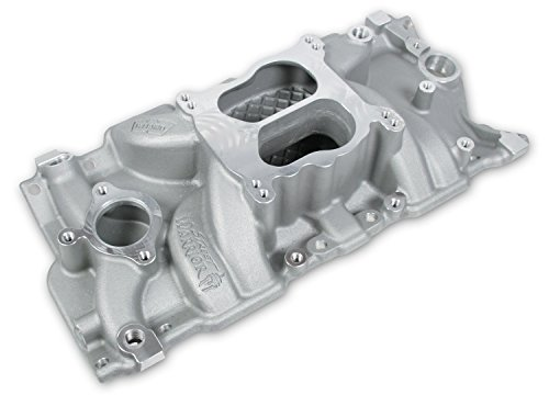 Weiand 8126 Street Warrior Square/Spread Bore Satin Intake