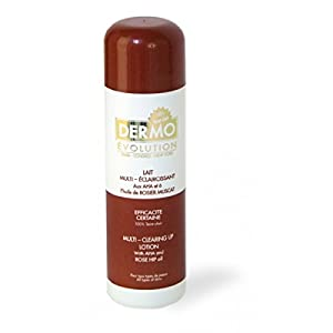 Dermo Evolution - Lait multi éclaircissant aux Aha et à l'huile de Jojoba 500 ml