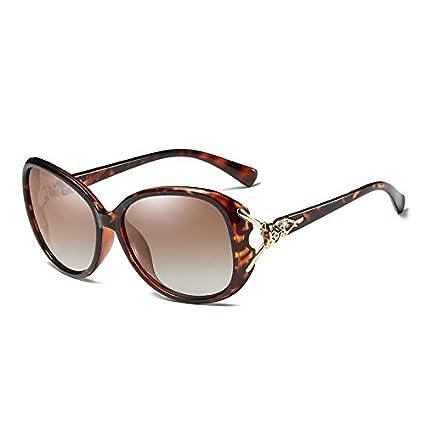 MSmask Las señoras de las mujeres elegantes gafas de sol polarizadas Gafas de sol Gafas Mujer