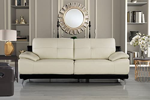 Amazon.com: divano Roma muebles – sala de estar moderna sofá ...