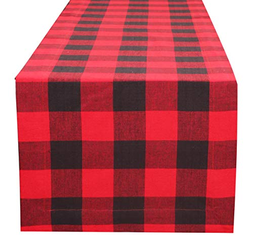 Buffalo Check Table Runner 90 inch in 100%