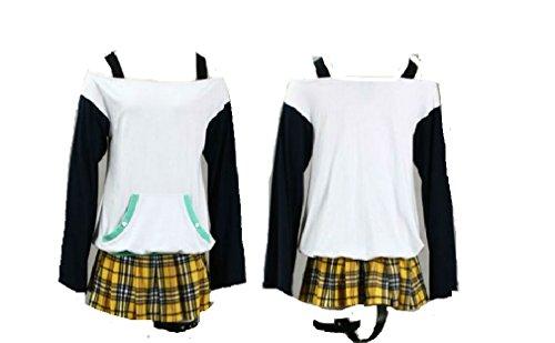 Mizore Shirayuki Cosplay Costume (Rosario and Vampire Mizore Shirayuki Cosplay Costume)