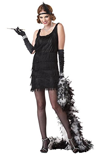 Red Fashion Flapper Adult Costume for sale  Delivered anywhere in USA