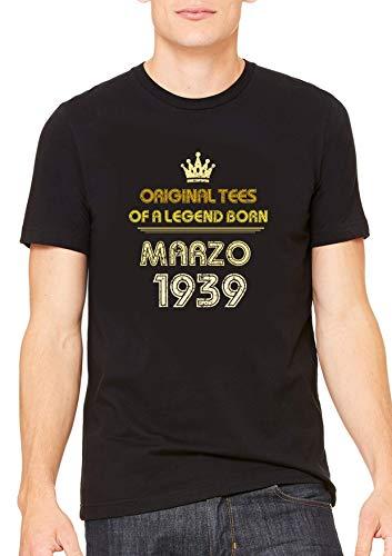 Con T shirt Speciale Questa NataFesteggiare Il Marzo È Compleanno Leggenda Facile 1939La b6g7yf