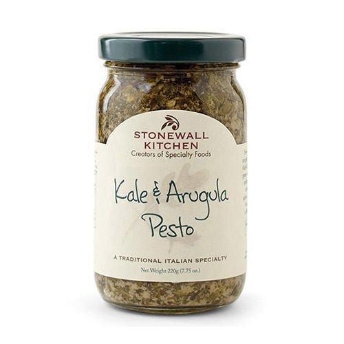 Stonewall Kitchen Pesto - Kale and Arugula - 7.75 oz Green Pesto Pasta