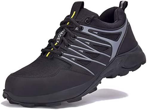Womens Steel Toe Safety Shoes Work Shoes Indestructible Boots Outdoor Hiker Size