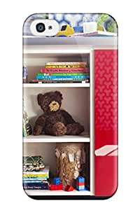 Hana Heinen Case Cover Protector Specially Made For Iphone 4/4s Boy8217s Bedroom Toy Storage With Red Doors And Blue Walls