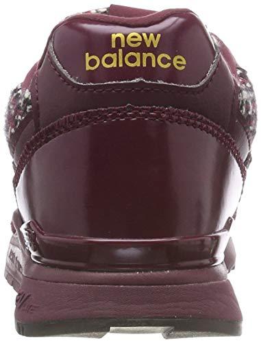 Ac classic Balance New 840 Para Mujer Zapatillas Burgundy Gold Rojo nb TwCaf
