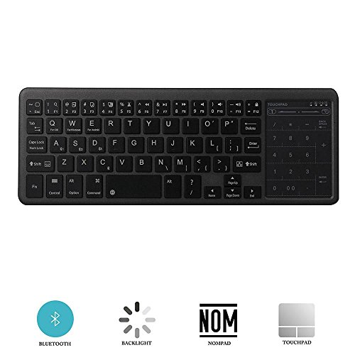 7 keyboard with touchpad - 8