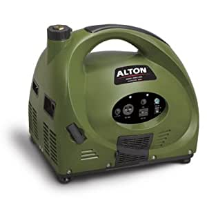 Alton AT04143PM 1,850 Watt 79.5cc 4-Stroke Portable Enclosed Generator For Camping & Hunting With Wheel Kit