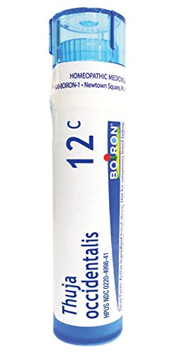 (Boiron Thuja Occidentalis 12C 80 Pellets Homeopathic Medicine for Warts)