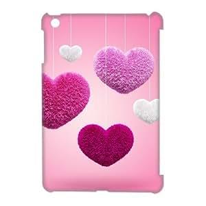J-LV-F Love Heart Pattern 3D Case for iPad Mini