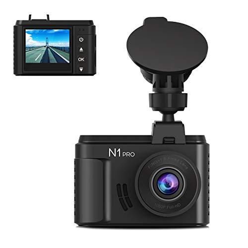 "Vantrue N1 Pro Mini Dash Cam Full HD 1920x1080P Car Dash Camera 1.5"" 160° DashCam w/Sony Night Vision Sensor, 24 Hour Parking Mode, Motion Sensor, Collision Detection, Support 256GB Max, Optional GPS"