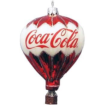 kurt adler coca cola glass balloon ornament 35 inch