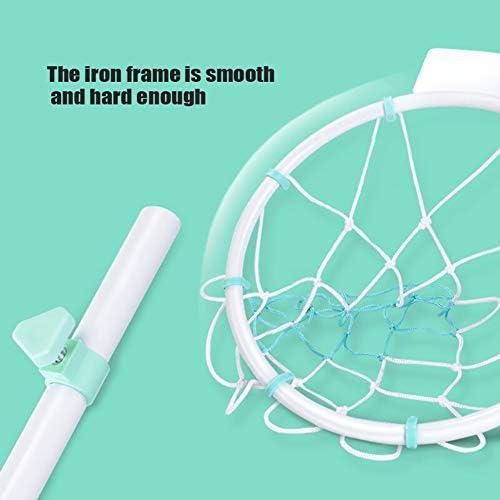 SHANG Baby-Basketball-Ständer, einfach zu bewertender Basketball-Ständer Spaß-Basketball-Satz verstellbares Sporttraining für Jungen und Mädchen