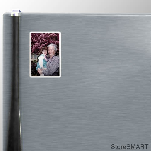 StoreSMART - Deluxe 4'' x 6'' Full Back Magnetic Photo Frames - 50-Pack - Sealed 3 Sides - H32304-50 by STORE SMART (Image #7)