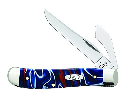 (Case Mini Patriot Trapper with Caplifter Pocket Knife)