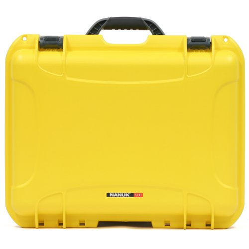 Nanuk 930 Waterproof Hard Case with Padded Dividers - Yellow