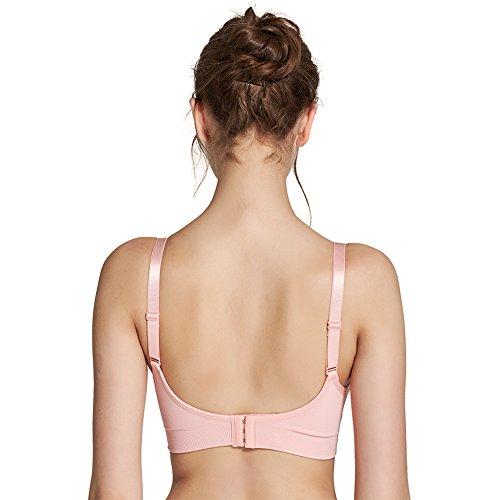 FeelinGirl - Sostén para la mastectomía - para mujer Rosa Nude Schwarz