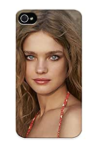 Fireingrass Design High Quality Natalia Vodianova Cover Case With Ellent Style For Iphone 4/4s(nice Gift For Christmas)