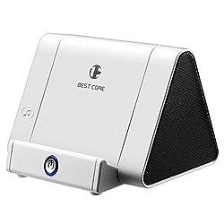 Portable Wireless Sensor Phone Stand Speaker Hands Free Loudspeaker Rechargeable Speaker Amplifier for Smartphones iPhone 8 7 6 Plus 6 5S 5C Ipad Android Samsung Huawei Nexus Phones