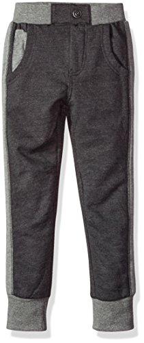 (Petit Lem Boys' Lil Mister Knit Pants, Heather Grey, 5)