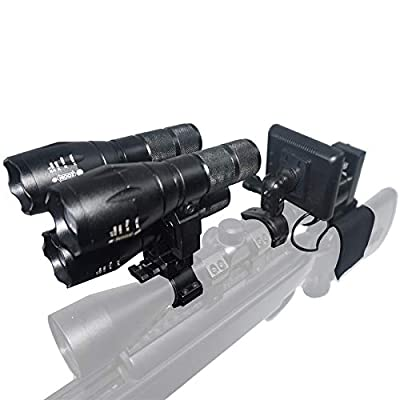 NITEOWL NV-G3 Digital Night Vision Scope for Rifle Hunting with Camera and Portable Display Screen Night Vision 400 Meters